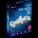 The U.S. Capitol - LED Lit 3D Jigsaw Puzzle