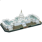 The Capitol Hill - LED Lit - 3D Jigsaw Puzzle
