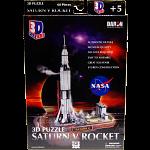 Saturn V Rocket - 3D Jigsaw Puzzle