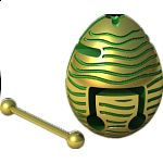Smart Egg  Labyrinth Puzzle - Hive