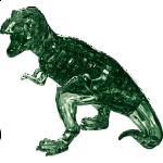 3D Crystal Puzzle Deluxe - T-Rex