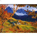 The Dolomites in Autumn