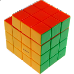 Calvin's 3x3x5 L-Cube with Evgeniy logo - Stickerless