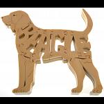 Beagle - Wooden Jigsaw
