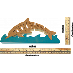 Dolphin - Wooden Jigsaw