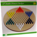 17 inch Jumbo Chinese Checkers