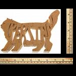 Persian Cat - Wooden Puzzle