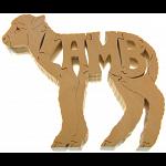Lamb - Wooden Jigsaw