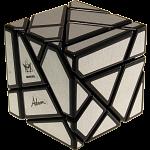 Ghost Cube - Matt Silver Labels