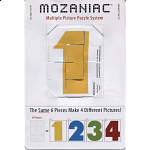Mozaniac - Colored Numbers