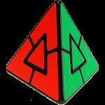 Pyraminx Duo - Black Body