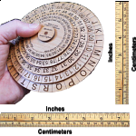Mexican Army Cipher Wheel