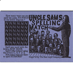 Uncle Sam's Spelling Match