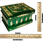 Romanian Puzzle Box - Large Green