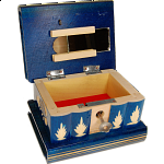 Romanian Puzzle Box - Medium Blue