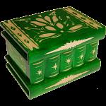 Romanian Puzzle Box - Medium Green