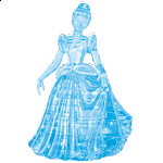 3D Crystal Puzzle - Cinderella
