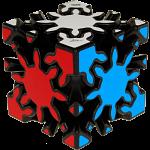 Timur Gear Skewb - Black Body
