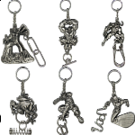 Group Set - a set of 6 Marvel Heroes keychains