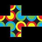 V-CUBE 3 Flat (3x3x3): Circles United