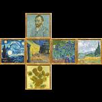 V-CUBE 3 Flat (3x3x3): Van Gogh
