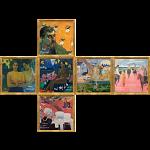 V-CUBE 3 Flat (3x3x3): Gauguin