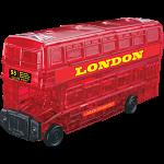 3D Crystal Puzzle - London Bus