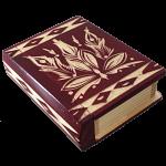 Romanian Secret Book Box - Burgundy