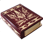 Romanian Secret Book Box - Red