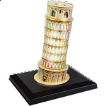 Leaning Tower of Pisa - LED Lit 3D Jigsaw Puzzle