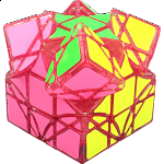 limCube Dreidel 3x3x3 DIY - Ice Pink Body (Limited Edition)