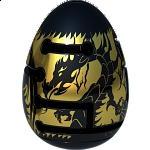 Smart Egg 2-Layer Labyrinth Puzzle - Level 3 Black Dragon