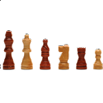 Wood Folding Chess Set - 11 inch Walnut