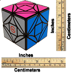 limCube Dreidel II (simple version) 3x3x3 - Black Body