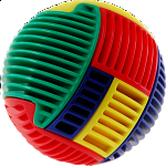 Slida Classic - Multi-Colored Ball