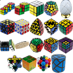 Group Special - a set of 21 Puzzle Master Rotational Puzzles