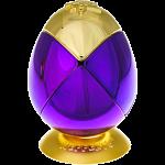 Metalised Egg 2x2x2 - Purple & Gold