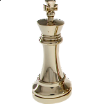 Silver Color Chess Puzzle Set