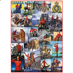 Royal Canadian Mounted Police - Collage
