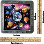 Magna 3D Lenticular Puzzle: Outer Space