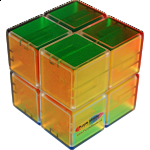 Clear 2x2x2 Cube