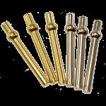 Cribbage Pegs - 6 Piece Metal (2 Colors)