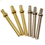 Cribbage Pegs - 6 Piece Metal (2 Colors)