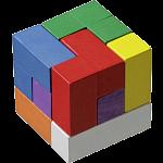 Soma Cube - Colourful