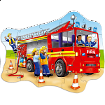 Big Fire Engine - Shaped Floor Puzzle