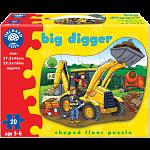 Big Digger - Shaped Floor Puzzle