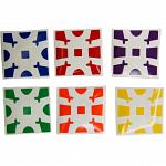 Gear Cube Sticker Set