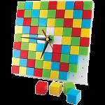 Puzzle Clock - Black