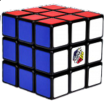 Rubik's Cube 3x3x3 - Mini Clamshell Package