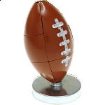 Magnetic Football Puzzle - Brown